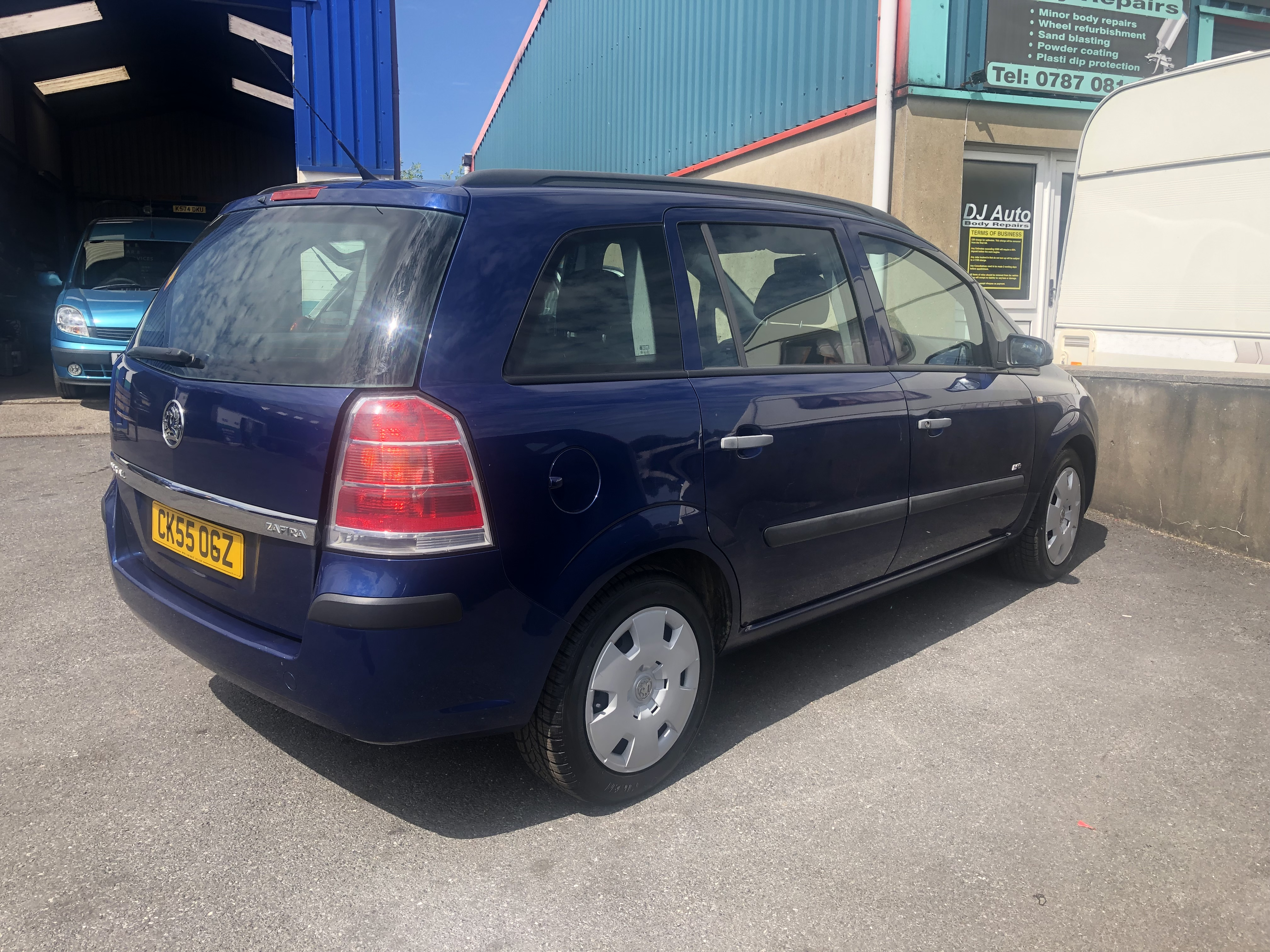 2005 55 Vauxhall Zafira Life - Wyns Car Sales